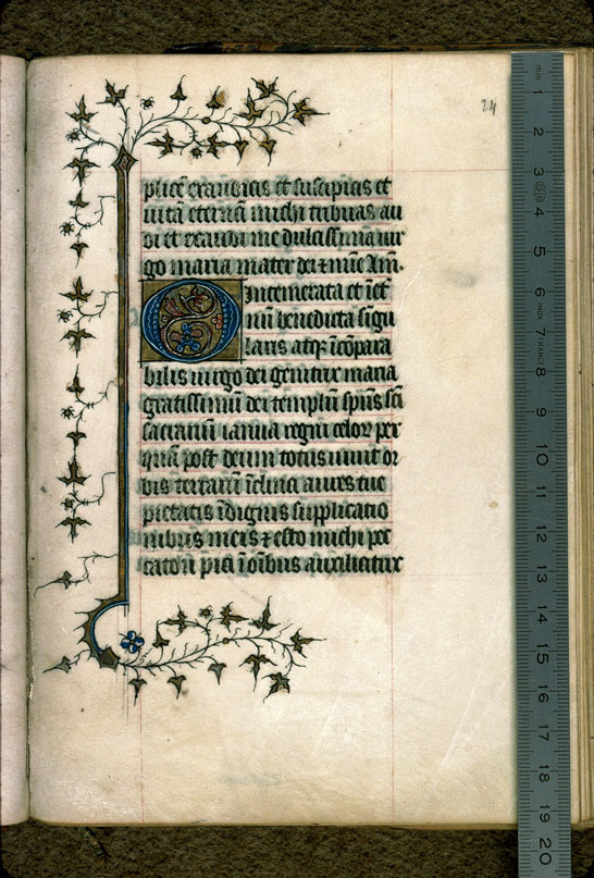 Carpentras, Bibl. mun., ms. 0079, f. 024 - vue 1