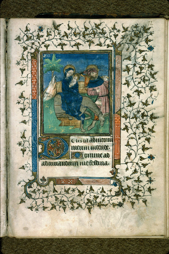 Carpentras, Bibl. mun., ms. 0079, f. 072 - vue 1