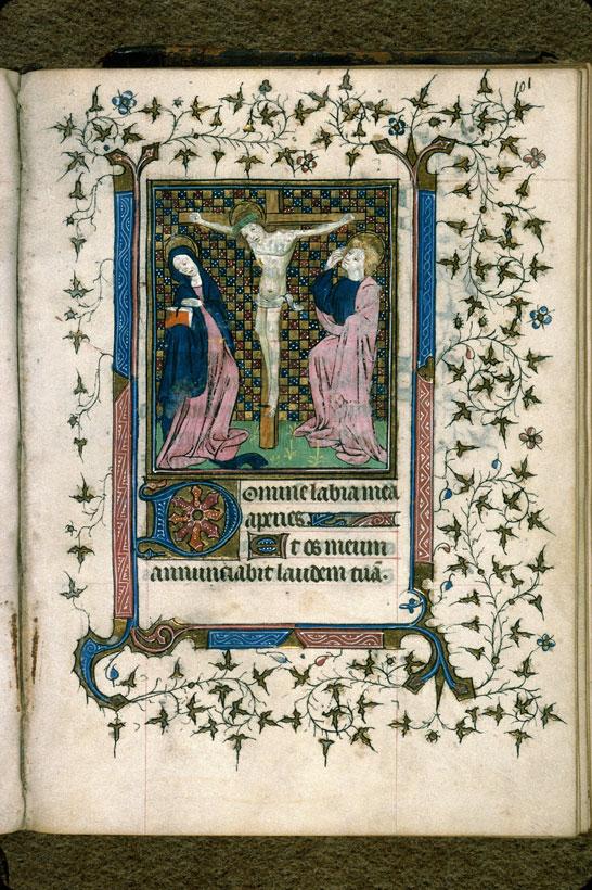Carpentras, Bibl. mun., ms. 0079, f. 101 - vue 1