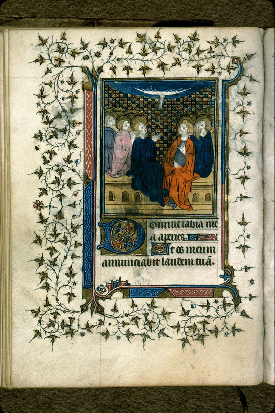 Carpentras, Bibl. mun., ms. 0079, f. 104v - vue 1