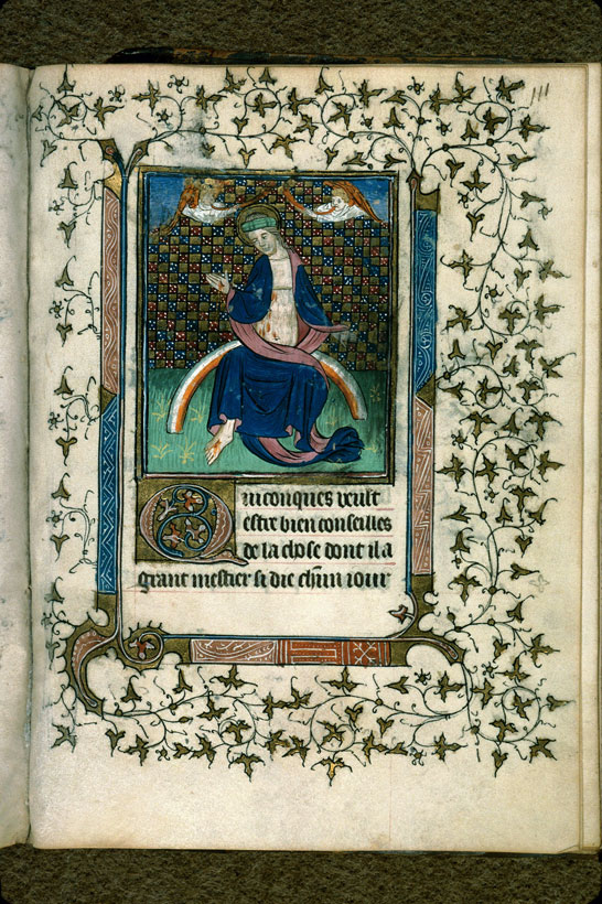 Carpentras, Bibl. mun., ms. 0079, f. 111 - vue 1