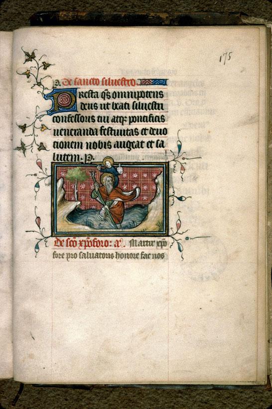 Carpentras, Bibl. mun., ms. 0079, f. 175 - vue 1