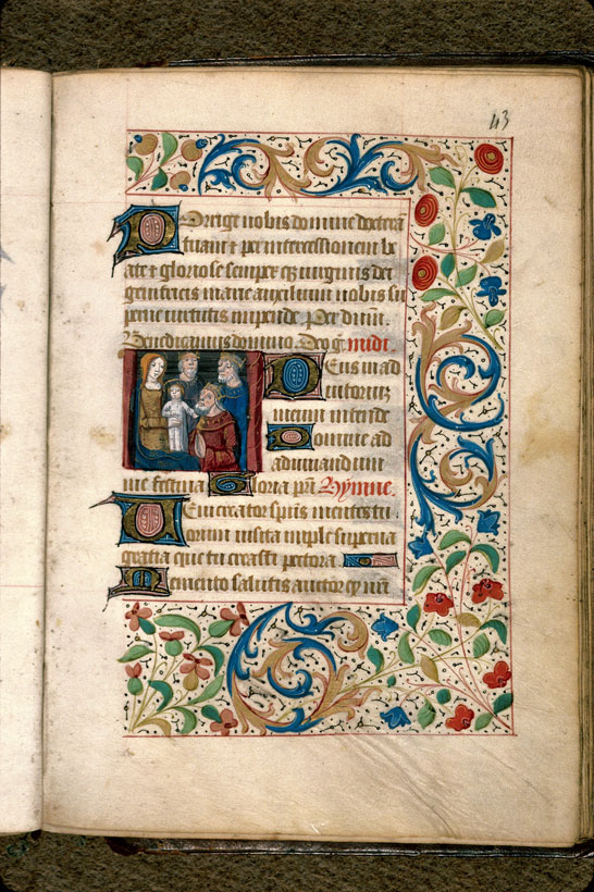 Carpentras, Bibl. mun., ms. 0080, f. 043 - vue 1