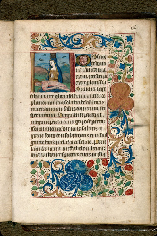 Carpentras, Bibl. mun., ms. 0080, f. 106 - vue 1