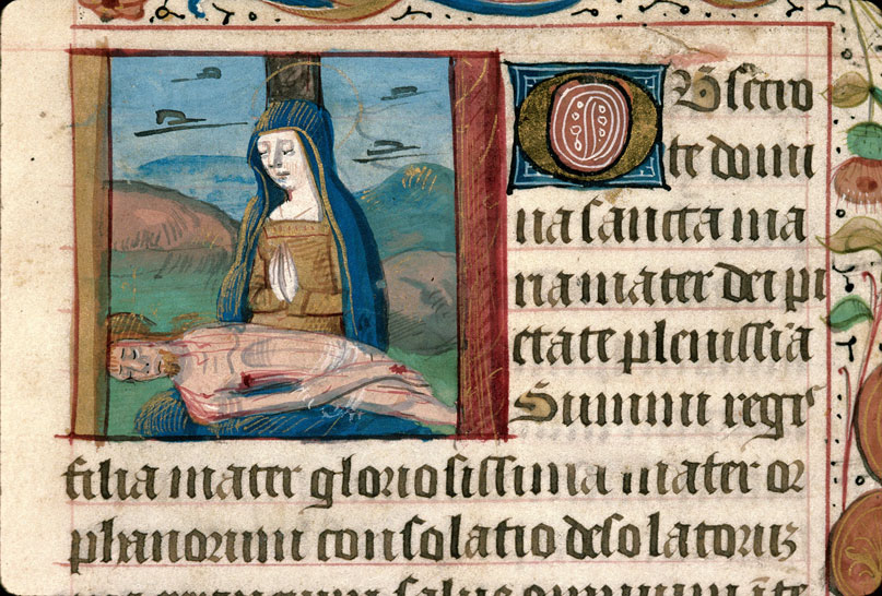 Carpentras, Bibl. mun., ms. 0080, f. 106 - vue 2