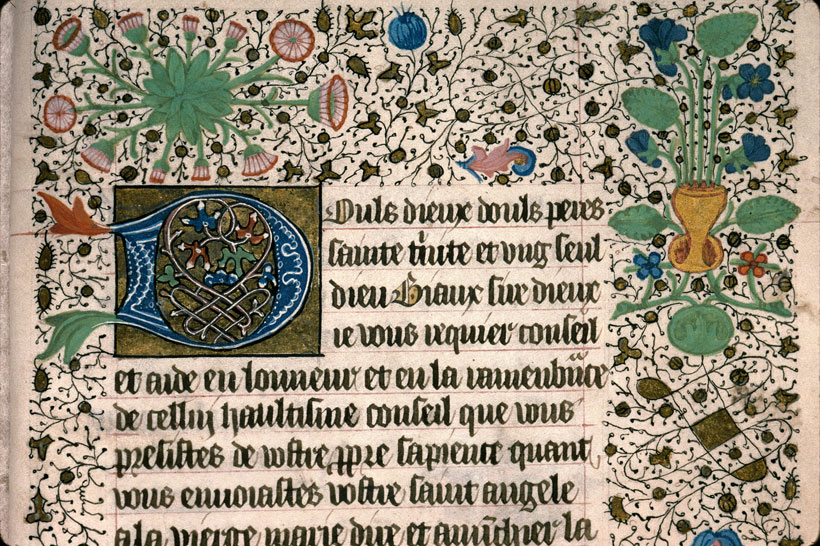 Carpentras, Bibl. mun., ms. 0081, f. 109 - vue 2