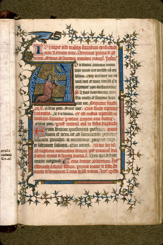 Carpentras, Bibl. mun., ms. 0083, f. 001 - vue 2
