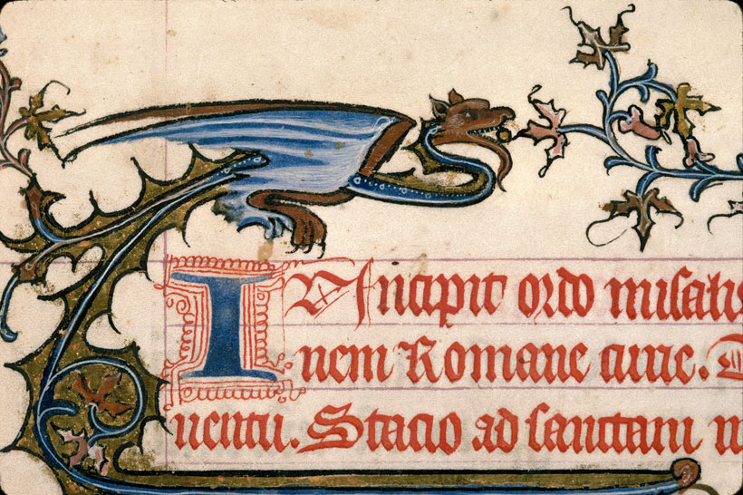Carpentras, Bibl. mun., ms. 0083, f. 001 - vue 4