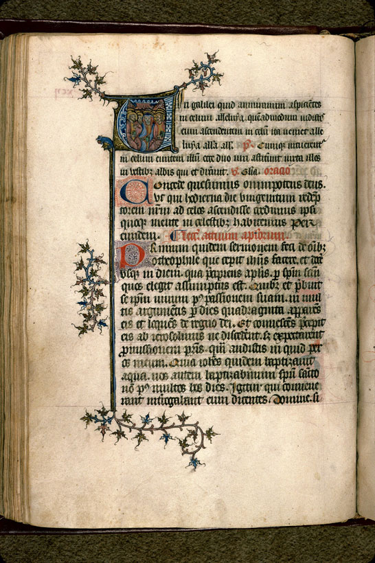 Carpentras, Bibl. mun., ms. 0083, f. 092v - vue 1