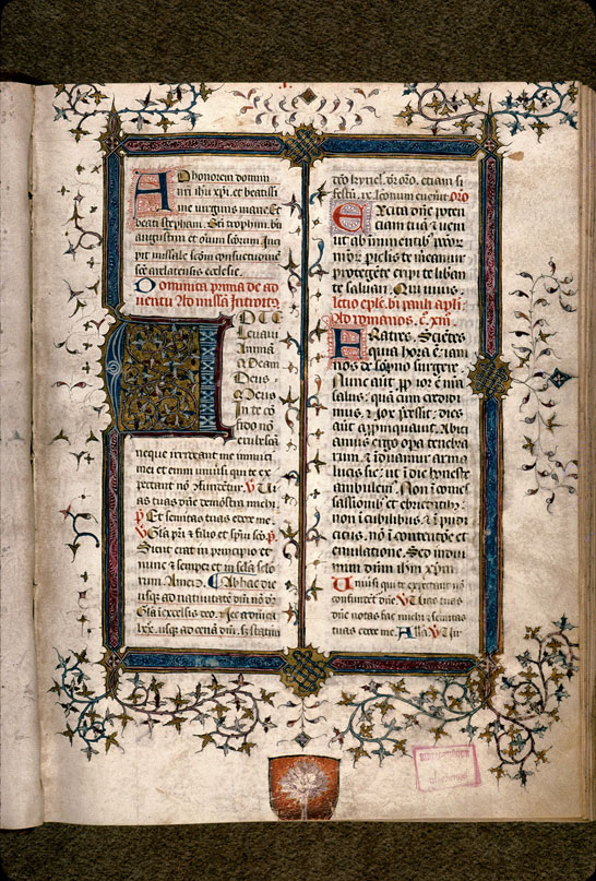 Carpentras, Bibl. mun., ms. 0087, f. 001 - vue 2