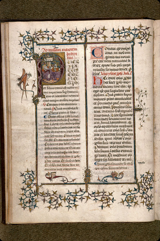 Carpentras, Bibl. mun., ms. 0087, f. 011v - vue 1