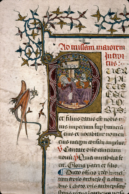 Carpentras, Bibl. mun., ms. 0087, f. 011v - vue 2