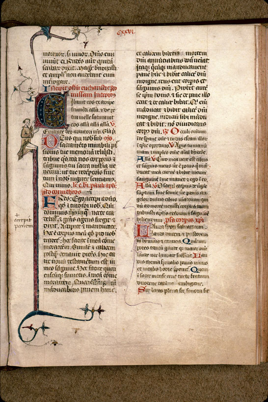 Carpentras, Bibl. mun., ms. 0087, f. 126 - vue 1
