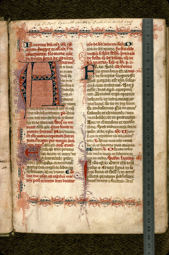 Carpentras, Bibl. mun., ms. 0091, f. 008 - vue 1