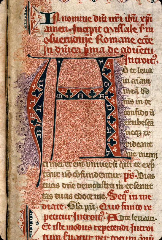 Carpentras, Bibl. mun., ms. 0091, f. 008 - vue 3