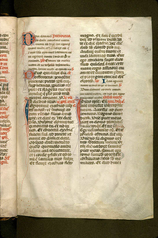 Carpentras, Bibl. mun., ms. 0092, f. 009 - vue 2