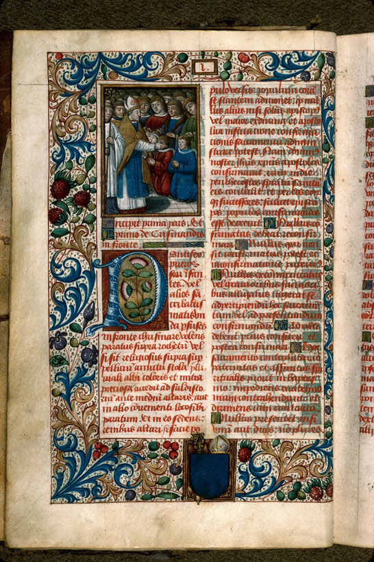 Carpentras, Bibl. mun., ms. 0095, f. 001v - vue 1