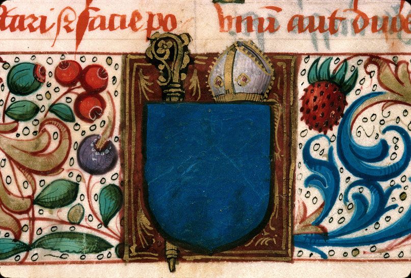 Carpentras, Bibl. mun., ms. 0095, f. 001v - vue 3