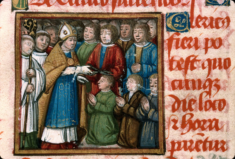 Carpentras, Bibl. mun., ms. 0095, f. 005v - vue 2