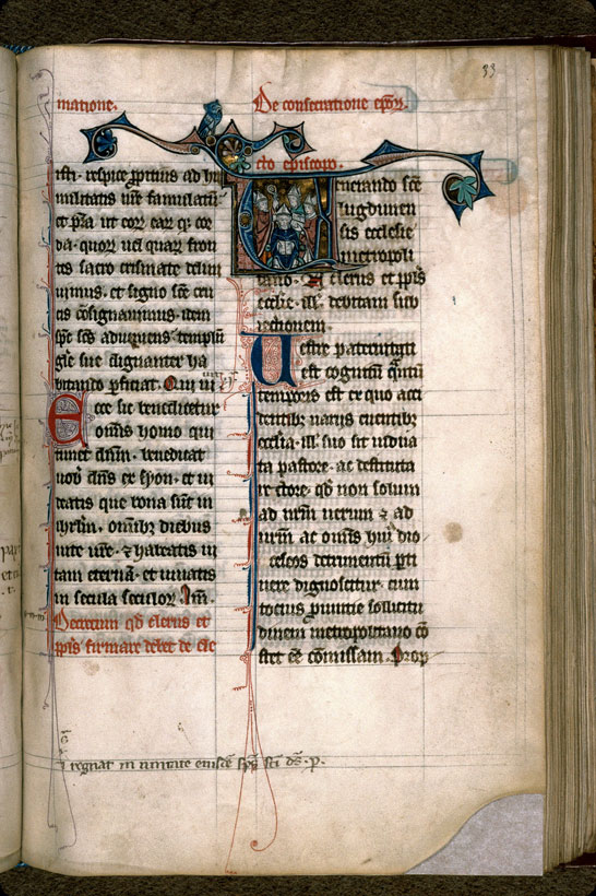 Carpentras, Bibl. mun., ms. 0096, f. 033 - vue 1