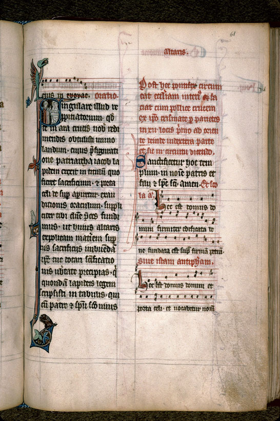 Carpentras, Bibl. mun., ms. 0096, f. 061 - vue 1