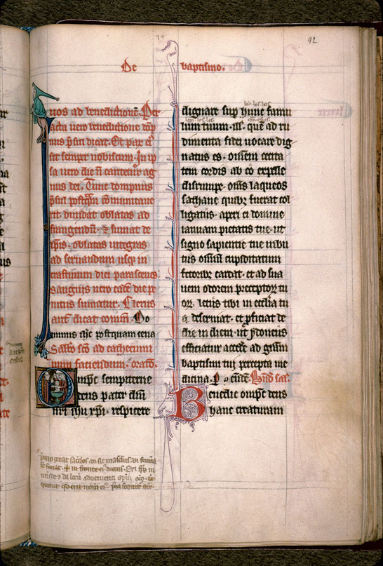 Carpentras, Bibl. mun., ms. 0096, f. 092 - vue 1