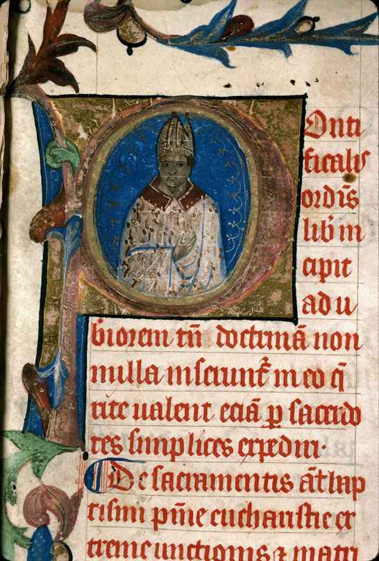 Carpentras, Bibl. mun., ms. 0097, f. 001 - vue 3