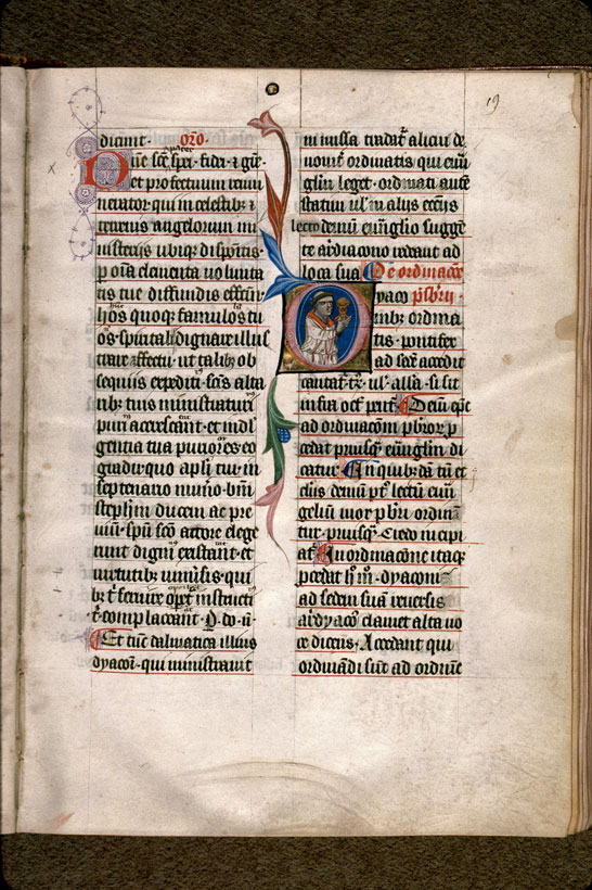 Carpentras, Bibl. mun., ms. 0097, f. 019 - vue 1