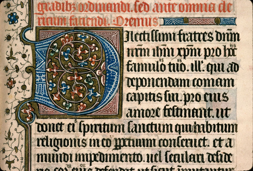 Carpentras, Bibl. mun., ms. 0098, f. 001 - vue 3