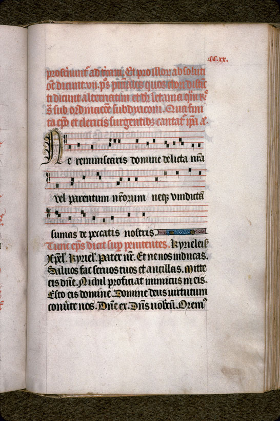 Carpentras, Bibl. mun., ms. 0098, f. 220 - vue 1