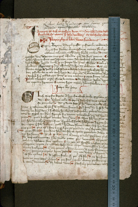 Carpentras, Bibl. mun., ms. 0156, f. 001 - vue 1