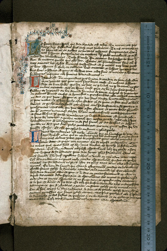 Carpentras, Bibl. mun., ms. 0158, f. 001 - vue 1