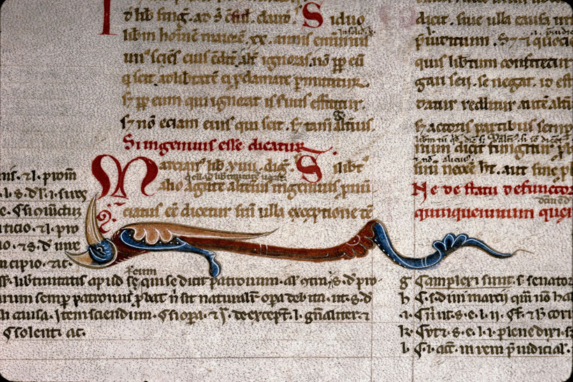 Carpentras, Bibl. mun., ms. 0200, f. 041v - vue 2