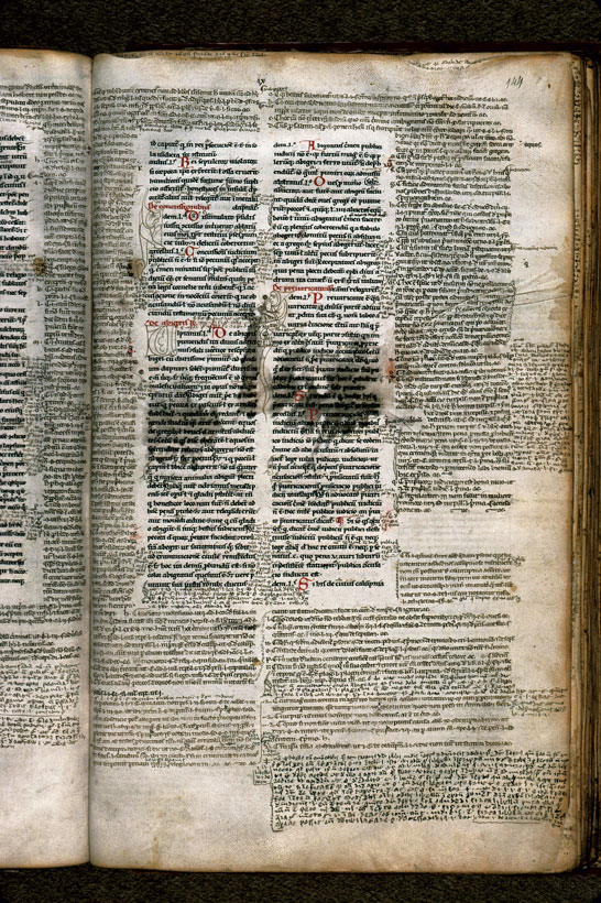 Carpentras, Bibl. mun., ms. 0200, f. 144 - vue 1