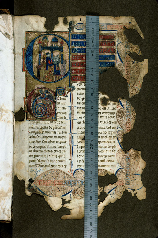 Carpentras, Bibl. mun., ms. 0269, f. 001 - vue 1
