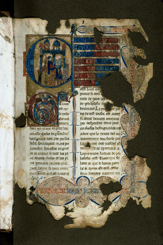 Carpentras, Bibl. mun., ms. 0269, f. 001 - vue 2