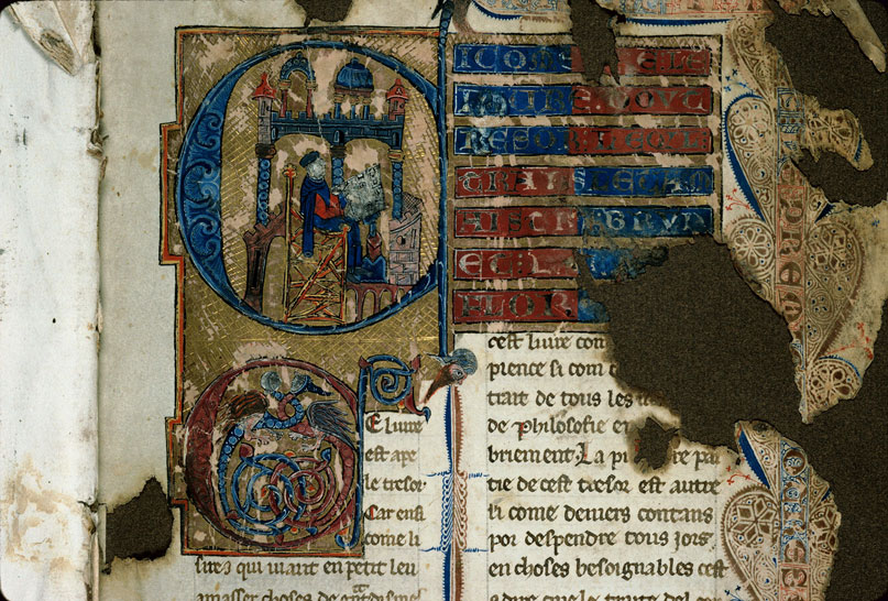 Carpentras, Bibl. mun., ms. 0269, f. 001 - vue 3