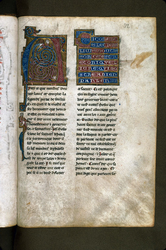 Carpentras, Bibl. mun., ms. 0269, f. 212 - vue 1