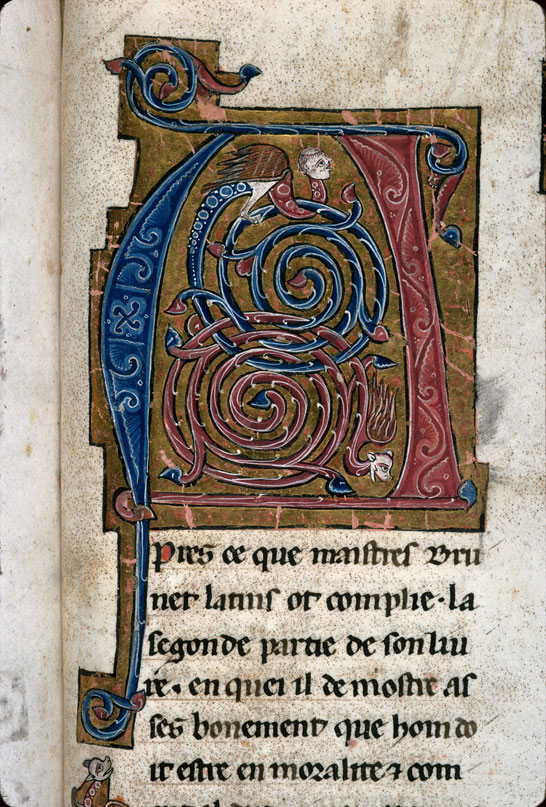 Carpentras, Bibl. mun., ms. 0269, f. 212 - vue 2