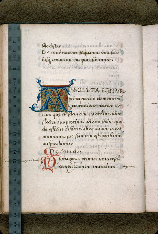 Carpentras, Bibl. mun., ms. 0282, f. 032v - vue 1
