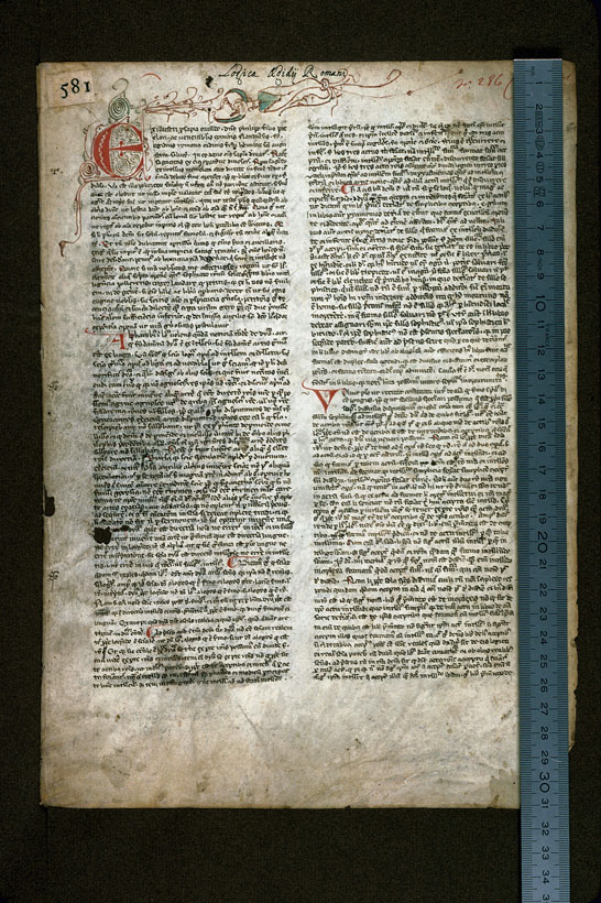 Carpentras, Bibl. mun., ms. 0290, f. 001 - vue 1