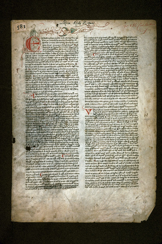 Carpentras, Bibl. mun., ms. 0290, f. 001 - vue 2