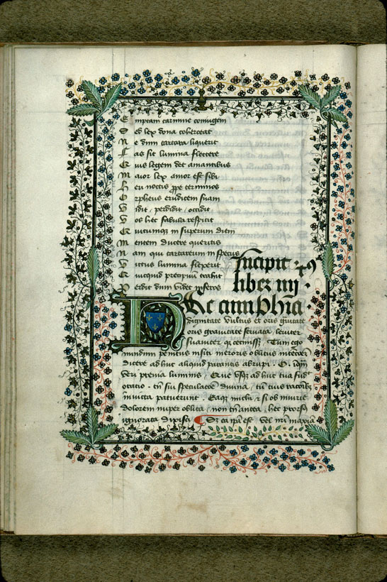 Carpentras, Bibl. mun., ms. 0298, f. 028v - vue 1