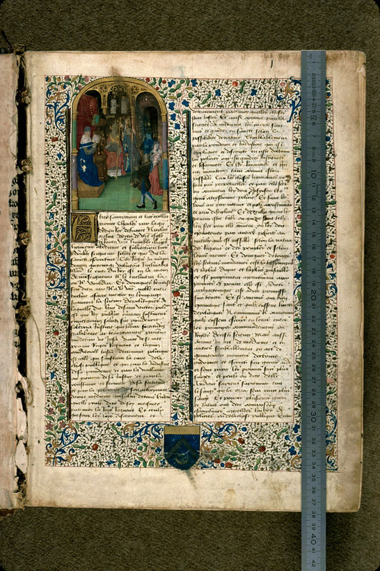 Carpentras, Bibl. mun., ms. 0302, f. 001 - vue 1