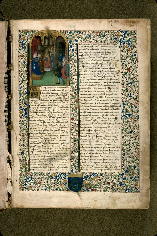 Carpentras, Bibl. mun., ms. 0302, f. 001 - vue 2