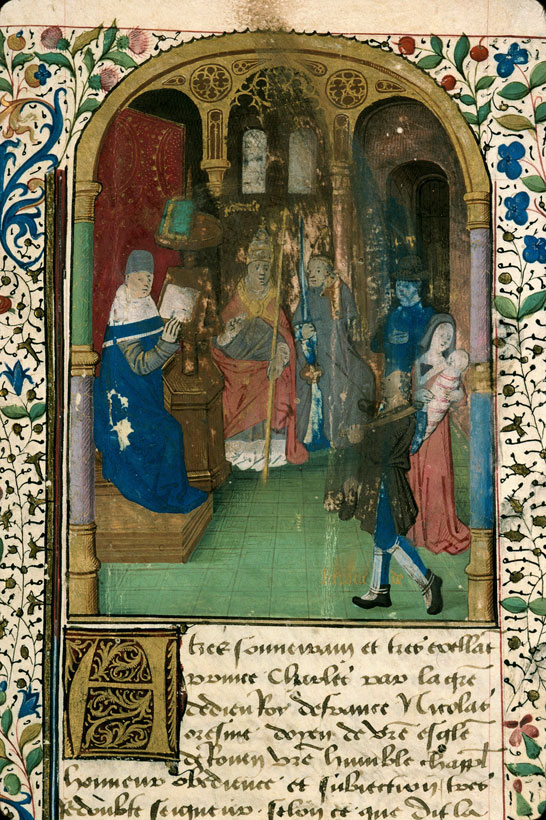 Carpentras, Bibl. mun., ms. 0302, f. 001 - vue 3