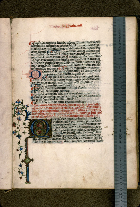Carpentras, Bibl. mun., ms. 0322, f. 010 - vue 1