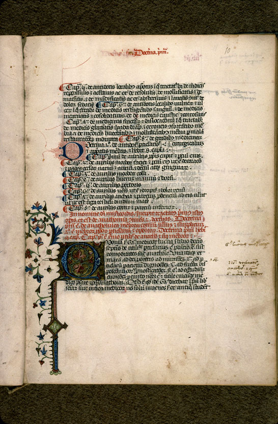 Carpentras, Bibl. mun., ms. 0322, f. 010 - vue 2