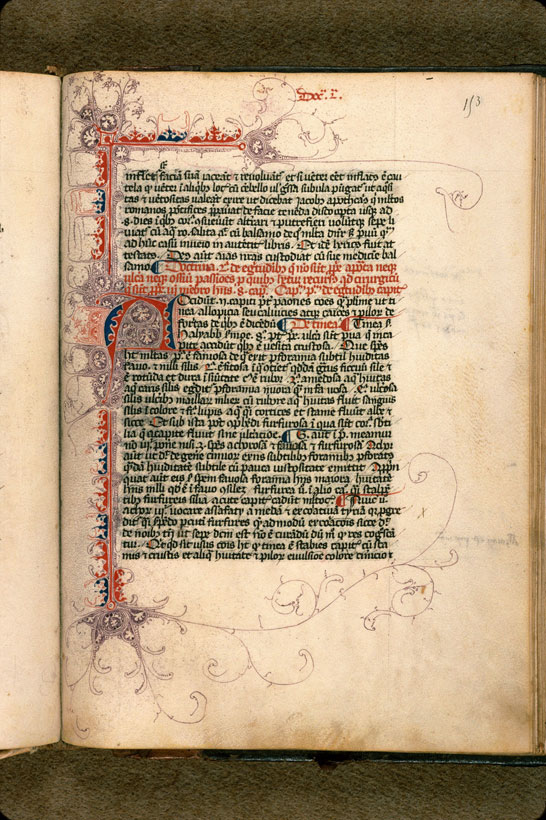 Carpentras, Bibl. mun., ms. 0322, f. 153 - vue 1