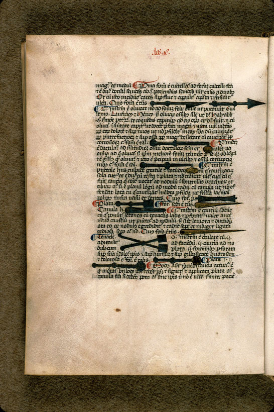 Carpentras, Bibl. mun., ms. 0322, f. 206v - vue 1